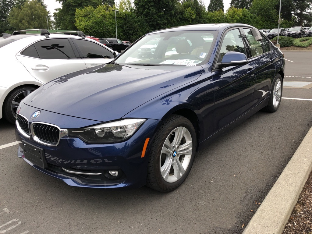 Pre-Owned 2016 BMW 3 Series 328i xDrive AWD, 1-Owner, Premium Pkg, Driver Assist Pkg