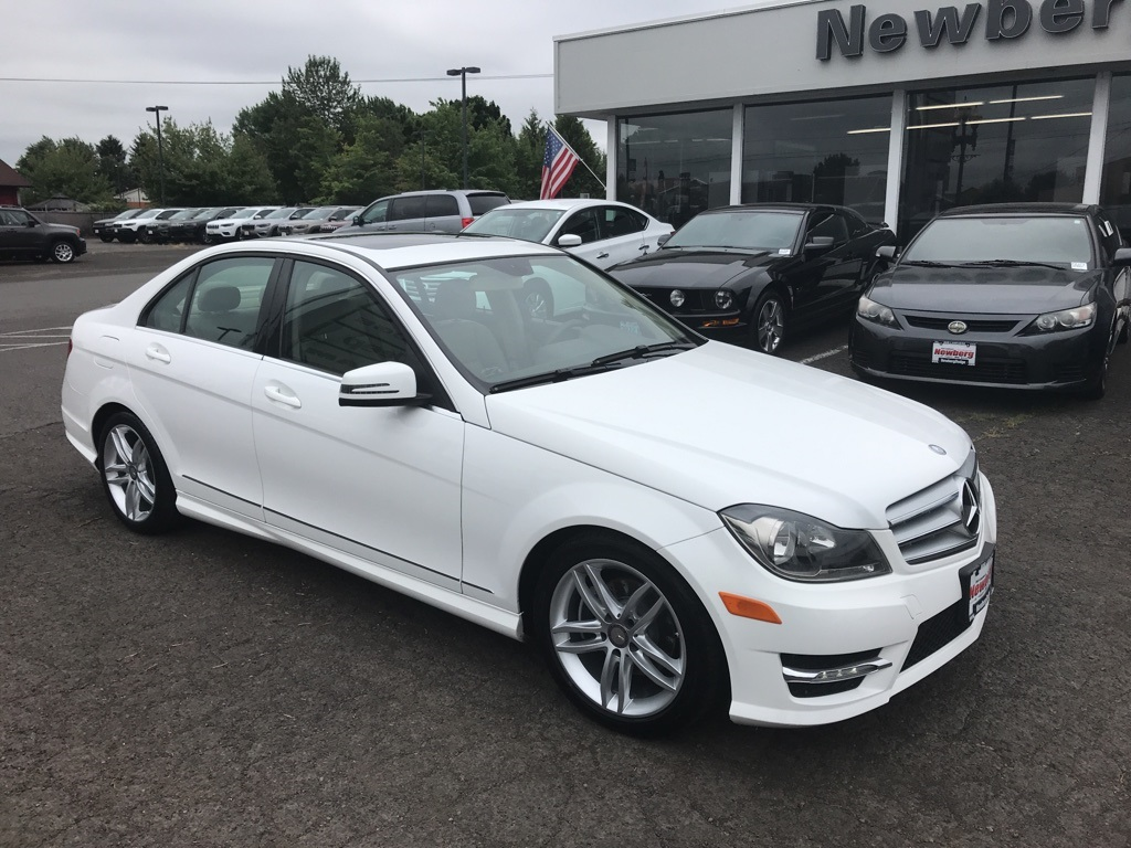 Pre-Owned 2013 Mercedes-Benz C-Class C 250 One Owner, Moonroof, Heated Seats