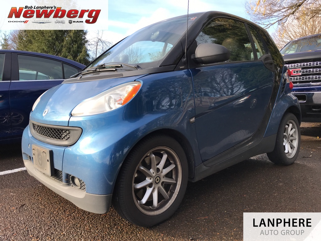 Pre-Owned 2009 smart Fortwo Passion Clean Carfax, Pano Roof, Heated Seats!