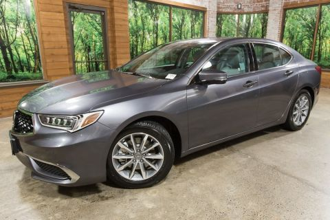 Pre-Owned 2018 Acura TLX 2.4L 1-Owner with Leather Heated Seats, Sunroof
