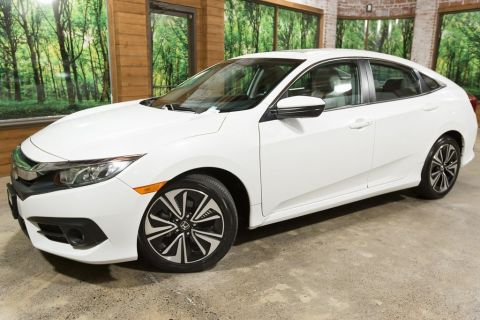 Certified Pre-Owned 2016 Honda Civic EX-T Turbo, 1-Owner, Certified, Sunroof