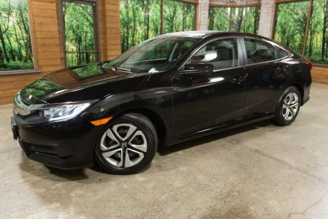 Certified Pre-Owned 2017 Honda Civic LX Certified, 1-Owner