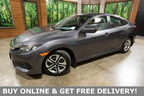 Certified Pre-Owned 2016 Honda Civic LX CERTIFIED