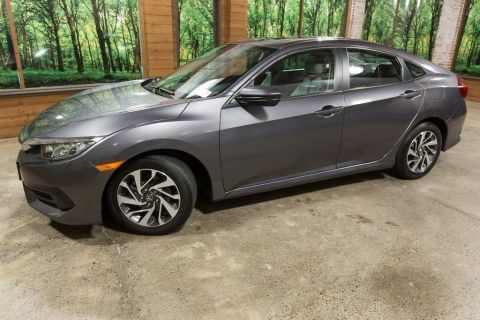 Certified Pre-Owned 2016 Honda Civic EX CERTIFIED, 1-Owner, Sunroof