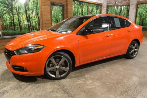 Pre-Owned 2015 Dodge Dart Limited/GT 1-Owner, Navigation, Sunroof, Leather Heated Seats