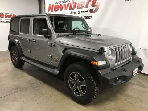 Certified Pre-Owned 2018 Jeep Wrangler Unlimited Sport 4WD, Tech Group, Convenience Group, Safety Group