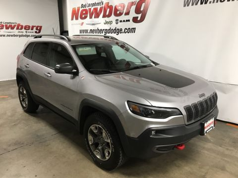 Certified Pre-Owned 2019 Jeep Cherokee Trailhawk 4WD, 1-Owner, Heated Seats