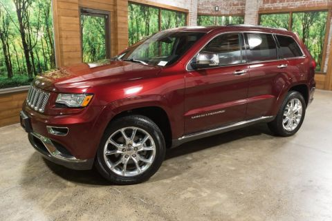 Pre-Owned 2016 Jeep Grand Cherokee Summit One Owner, Navigation, Leather