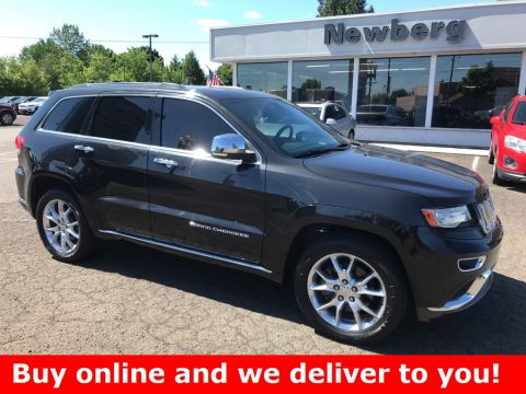 Pre-Owned 2014 Jeep Grand Cherokee Summit 4WD, Navigation, Panoramic Sunroof