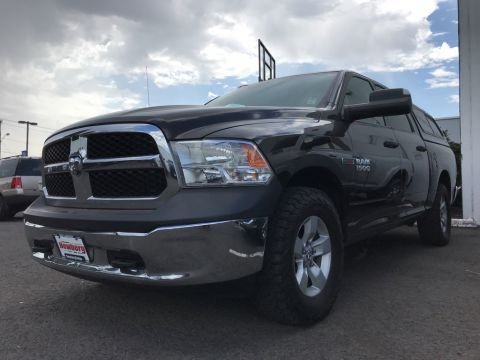 Pre-Owned 2016 Ram 1500 Tradesman 4WD Crew Cab, Appearance Pkg, Canopy