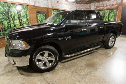 Pre-Owned 2013 Ram 1500 Big Horn Crew Cab 4WD, Luxury Group, Heated Seats
