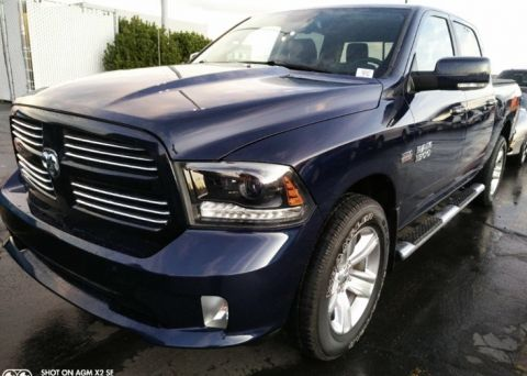 Pre-Owned 2015 Ram 1500 Sport Crew Cab 4WD, 20-In Wheels, HEMI