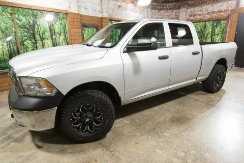 Pre-Owned 2016 Ram 1500 Tradesman Crew Cab 4WD with Custom Wheels and Tires