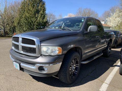 Pre-Owned 2004 Dodge Ram 1500 Big Horn 4WD, Tow Pkg, 20-Inch Wheels