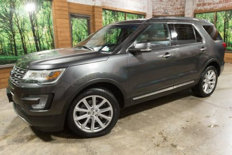 Pre-Owned 2017 Ford Explorer Limited AWD, Leather, Navigation