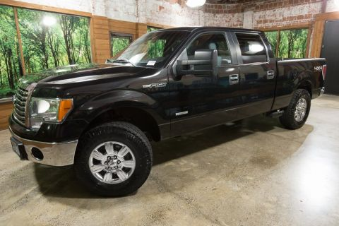 Pre-Owned 2012 Ford F-150 XLT Crew Cab 4WD, Off-Road Package