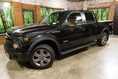 Pre-Owned 2013 Ford F-150 FX4 Crew Cab, Navigation, Sunroof, Luxury Pkg