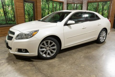 Pre-Owned 2013 Chevrolet Malibu LT Leather, 2LT, Mylink, Low 43k miles!