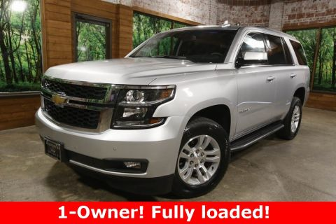 Pre-Owned 2019 Chevrolet Tahoe LT 4WD, Luxury Group, DVD, Navigation, Sunroof