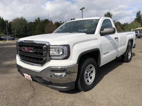 Pre-Owned 2018 GMC Sierra 1500 Base Long Bed, V8, 1-Owner