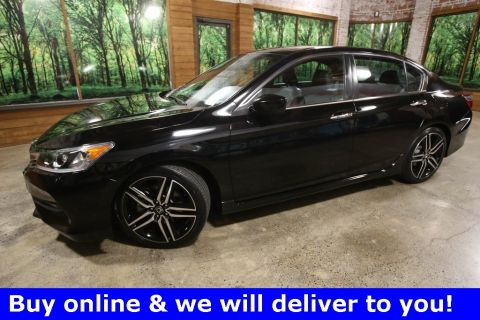 Certified Pre-Owned 2017 Honda Accord Sport Special Edition 6-SPEED, 1-Owner, Certified