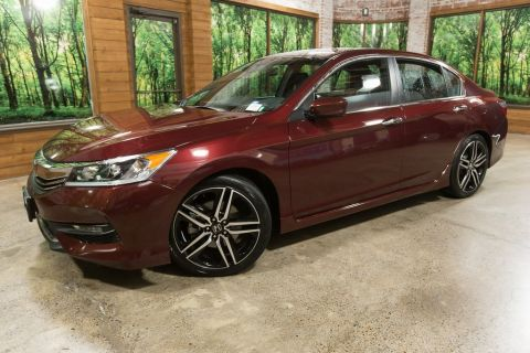 Certified Pre-Owned 2017 Honda Accord Sport Special Edition CERTIFIED, 1-Owner, 34 MPG