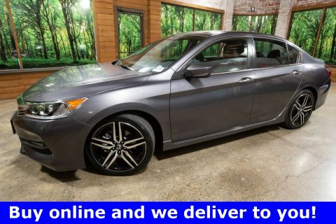 Certified Pre-Owned 2017 Honda Accord Sport Special Edition 1-Owner; CERTIFIED, Leather