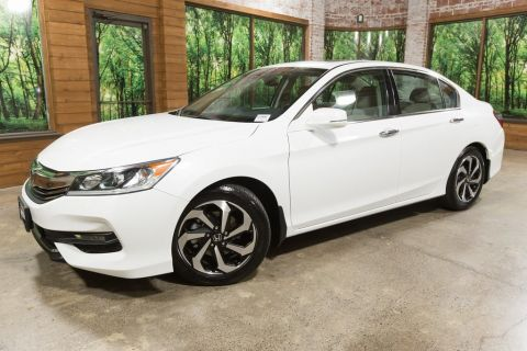 Certified Pre-Owned 2016 Honda Accord EX-L w/Navigation and Honda Sensing