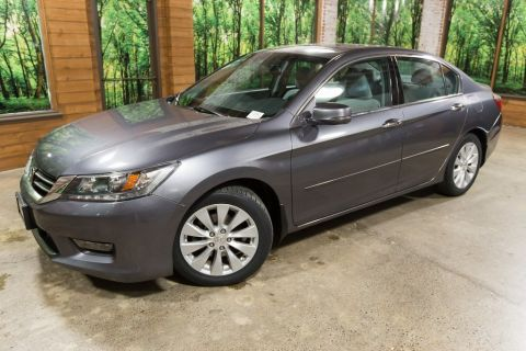 Pre-Owned 2014 Honda Accord EX-L Navigation, Leather, Sunroof, New Tires, 1-Owner!