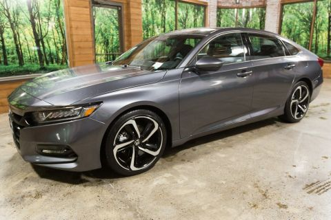 Certified Pre-Owned 2018 Honda Accord Sport CERTIFIED, 1-Owner