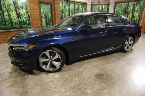 Certified Pre-Owned 2019 Honda Accord Touring 2.0T 1-Owner, Sunroof, Navigation, CERTIFIED