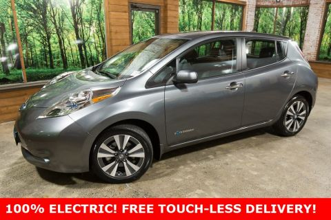 Pre-Owned 2017 Nissan Leaf SL 1-Owner, Premium Package, Navigation