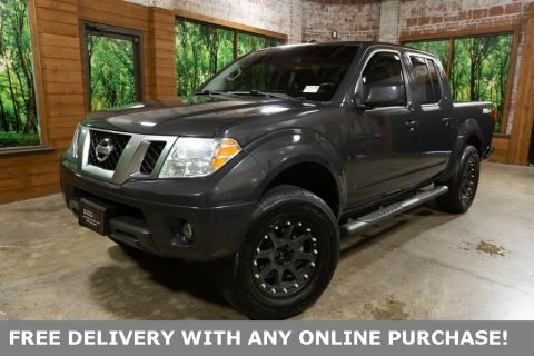 Pre-Owned 2013 Nissan Frontier PRO-4X 4WD Crew Cab, Custom Wheels, Graphics Pkg