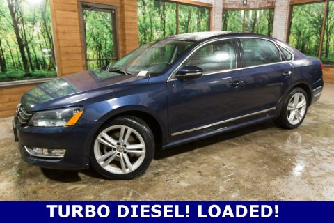 Pre-Owned 2012 Volkswagen Passat TDI SEL Premium 1-Owner, Panoramic Sunroof, Navigation