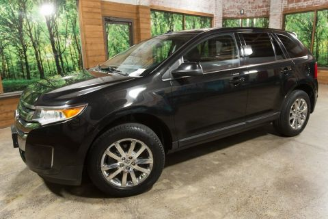 Pre-Owned 2013 Ford Edge Limited AWD with Panoramic Sunroof, Leather