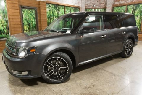 Pre-Owned 2015 Ford Flex SEL with Appearance Pkg, Leather, Navi, 20-In Wheels