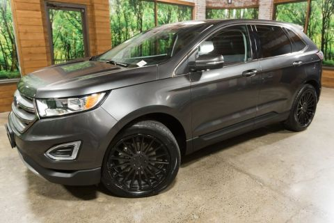 Pre-Owned 2017 Ford Edge SEL Panoramic Sunroof, Leather Heated Seats