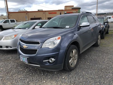 Pre-Owned 2013 Chevrolet Equinox LTZ with Safety Pkg, Sunroof, Navigation, Heated Seat