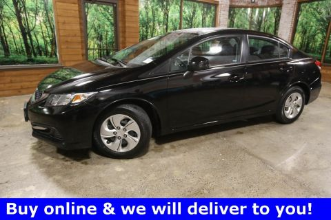 Pre-Owned 2013 Honda Civic LX Clean Carfax, Automatic Transmission