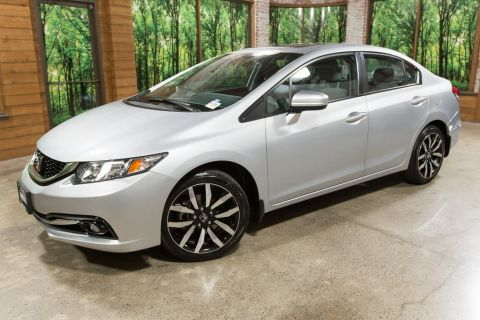 Certified Pre-Owned 2015 Honda Civic EX-L w/Navigation