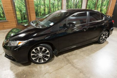 Pre-Owned 2013 Honda Civic Si 1-Owner, Sunroof