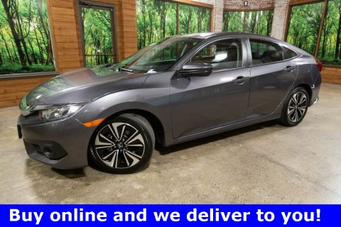 Certified Pre-Owned 2017 Honda Civic EX-T 1-Owner, CERTIFIED, Sunroof