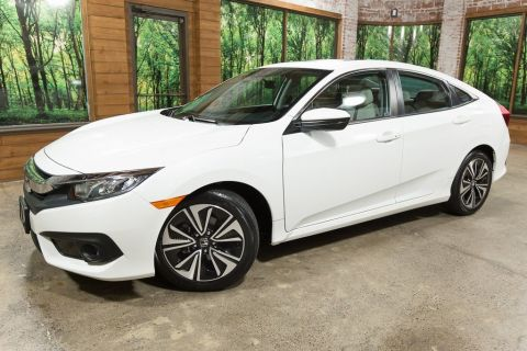 Pre-Owned 2017 Honda Civic EX-T w/Honda Sensing