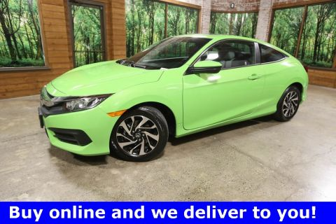 Certified Pre-Owned 2017 Honda Civic LX-P 1-Owner, CERTIFIED, Sunroof