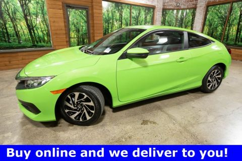 Certified Pre-Owned 2017 Honda Civic LX 1-Owner, CERTIFIED
