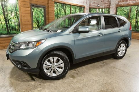 Pre-Owned 2012 Honda CR-V EX 1-Owner with Sunroof, Clean Carfax