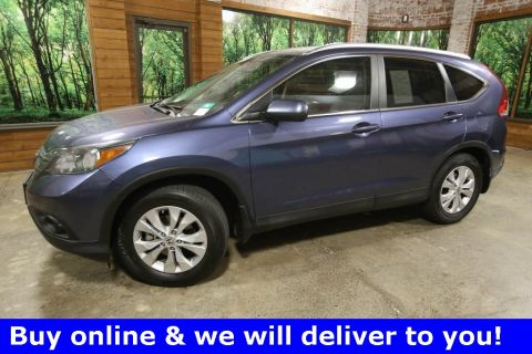 Pre-Owned 2013 Honda CR-V EX-L AWD, 1-Owner, Sunroof, Heated Seats