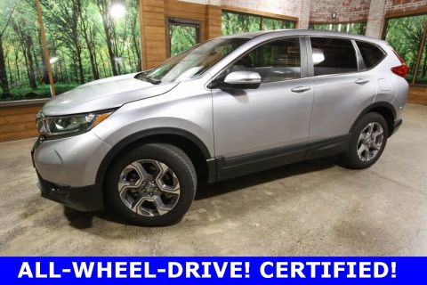 Certified Pre-Owned 2017 Honda CR-V EX-L AWD, 1-Owner, CERTIFIED, Sunroof