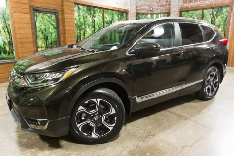 Certified Pre-Owned 2017 Honda CR-V Touring AWD, Sunroof, Leather Heated Seats, CERTIFIED