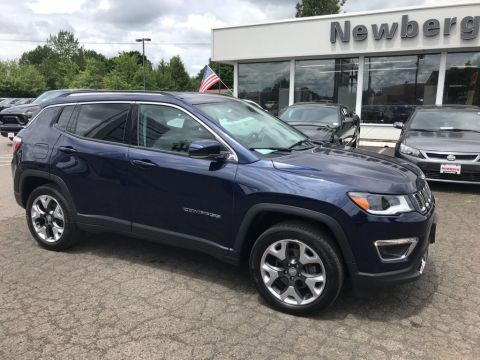 Certified Pre-Owned 2018 Jeep Compass Limited 4WD, Navigation, Advanced Safety Group, CERTIFIED